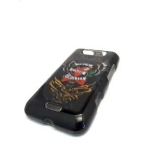 LG Connect 4G MS840 True Till Death Wing Tattoo Gloss Smooth Hard Case