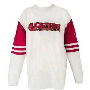 Nfl San Francisco 49Ers Big & Tall Long Sleeve Pieced Jersey T Shirt
