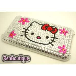 iPhone 3G 3GS Hello Kitty Crystal Rhinestone Bling Bling Back Case