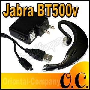 Jabra BT500v BT 500v Wireless Bluetooth Black Headset