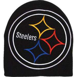 PITTSBURGH STEELERS NFL FOOTBALL LOGO BEANIE HAT NEW