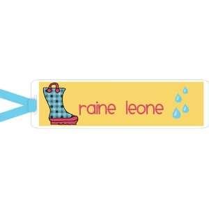 Im Inkpressed Bookmarks   Rainboots Girl