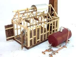 Twin Cylinder STEAM ENGINE & FIRETUBE BOILER Kit