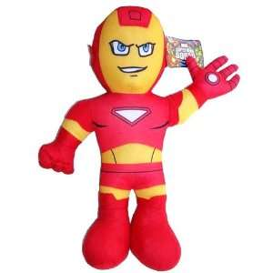 13in Tall Iron Man Plush   Marvel Stuffed Toys Toys & Games