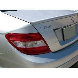 08 11 Mercedes Benz C Class Lip Spoiler   Factory Style   Painted or