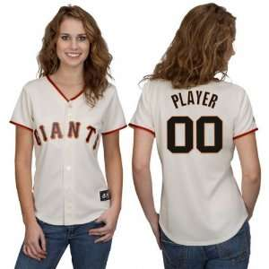 San Francisco Giants Customized Womens Home Replica