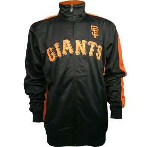 San Francisco Giants Pro Track Jacket (Black) Sports