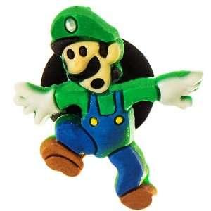 DIY Jewelry Making Mario Bros Luigi hops croc charm