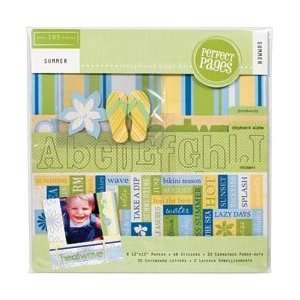 Colorbok Summer Page Kit 12X12 46094; 2 Items/Order Home & Kitchen