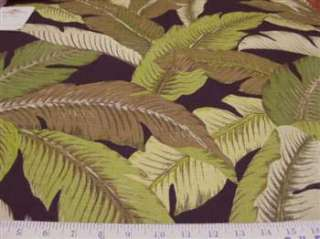 Fabric Tommy Bahama Indoor/Outdoor Swaying Palms Coal TB49