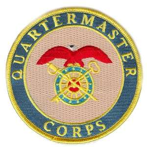 ARMY QUARTERMASTER BRANCH PATCH