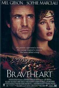 Braveheart 27 x 40 Movie Poster Mel Gibson, Style C