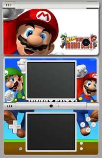 Nintendo DSi Super Mario Brothers Skin Cover dsimario