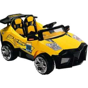 com Super Fast Sport Car 2 Motors,2 Batteries,2 Seats. Toys & Games