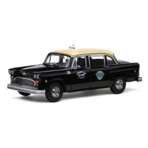 1981 Checker A11 Black Cab Taxi 1/18 by Sunstar 2507 Toys & Games