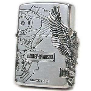 JAPANESE DESIGN EAGLE METAL hd12 HARLEY DAVIDSON ZIPPO