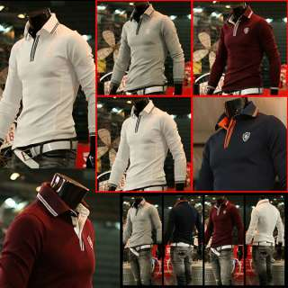 Casual Sports Wear Cotton Mens Top T Shirts White /SU HT302