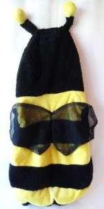 Halloween Costume Child 3T   4T BUMBLE BEE Wings EUC