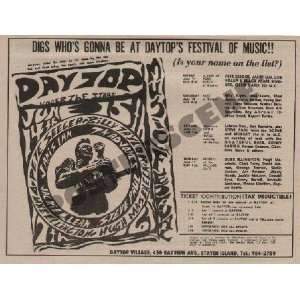 Grateful Dead NY New York 1968 Daytop Festival: Home & Kitchen