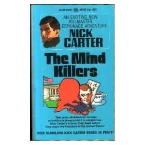 The Mind Killers Nick Carter Books
