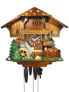 Cuckoo Clock Black Forest Railway Line 1 Day Music NEW |