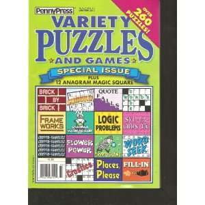 Penny Press Variety Puzzles and Games (Over 260 Puzzles
