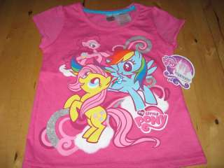 NEW GIRLS MY LITTLE PONY CANTERLOT T SHIRT SZ 2T