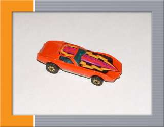 1980 Hot Wheels: Corvette Stingray w/ Orange Ribbon