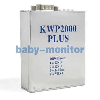 KWP2000 plus OBD2 ECU Flasher EOBD Chip Tuning Tool new