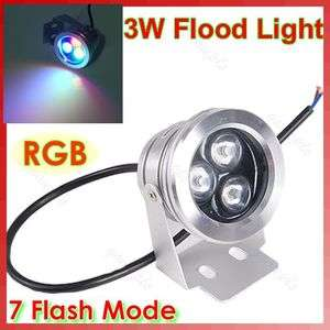 RGB Color High Power LED Outdoor Flood Wash Light Floodlight 12V Lamp