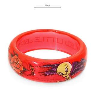LOONEY TUNES TWEETY SPOILED LITTLE BIRD BRACELET NEW
