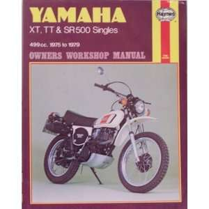 Yamaha XT, TT and SR500 Singles Owners Workshop Manual