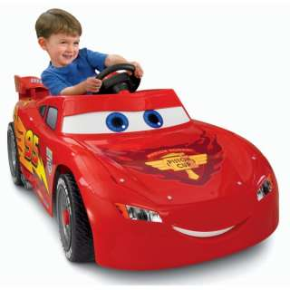 Power Wheels Disney Cars 2 Lightning McQueen 6V Ride On