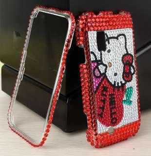 Cat Hello Kitty Bling Case For Samsung Fascinate i500