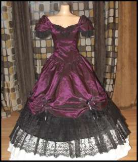 Ball Dress on Victorian Southern Belle Ball Gown Dress Gothic Princess Steampunk 8