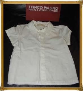 NWT*I PINCO PALLINO*ELEGANT WHITE BLOUSE*DRESS SHIRT*24