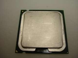 Intel Celeron 2.66/2.53/3.06/2.40GHz CPU Gold Scrap Art