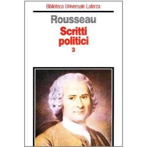 sul governo di Polonia (9788842044062): Jean Jacques Rousseau: Books