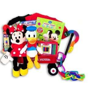 Disney Minnie Mouse Clubhouse Baby Gift Basket. Baby