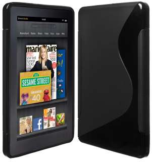 COVER FOR  KINDLE FIRE GEL SOFT SKIN CASE 817781010452