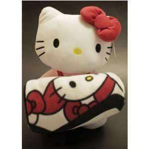 Hello Kitty Plush Doll & Blanket Set by Sanario Toys