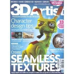 3D Artist Magazine # 38: Sarah Slee:  Books