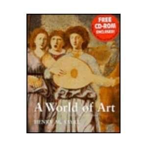 World of Art with CD ROM (9780130996794) Henry M. Sayre Books