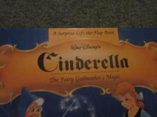 Disney Princesses Books Snow White, Bell, Cinderella pop flip book
