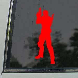 Resident Evil Red Decal Chris Redfield PS3 Xbox Red