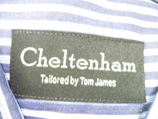 LOT 2 CHELTENHAM ROYAL CLASSIC Blue Dress Shirts 16/41