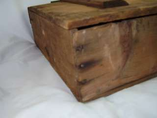 "Antique 21.5"" National Biscuit Co Fig Newtons Wood Box"