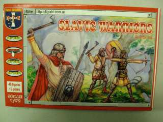 72 Medieval Slavic Warriors Orion 72028 48 figs