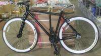 NEW BLACK FIXIE SINGLE SPEED FLIP FLOP BIKE BICYCLE FIXED GEAR ROAD