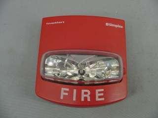 Simplex TrueAlert Fire Alarm 4904 9168 Red